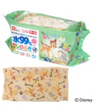 LEC BAMBI 99%水份嬰兒手、口專用濕紙巾 60片 X 3包