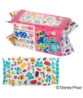 LEC 怪獸公司 99%水份嬰兒濕紙巾 80片 X 3包