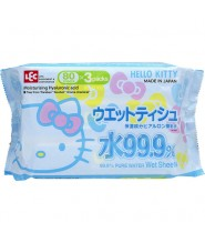 LEC HELLO KITTY 濕紙巾80S x 3包