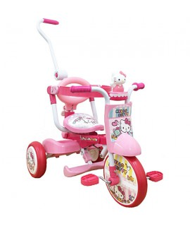 HELLO KITTY 摺合式 小童三輪車
