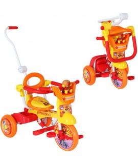 麵包超人摺合式小童三輪車