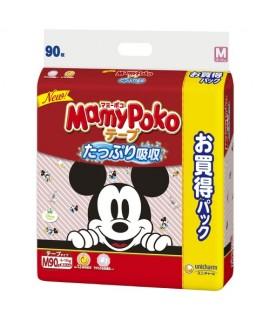 MAMY POKO 米奇紙尿片 M 中碼90片(6-11kg)