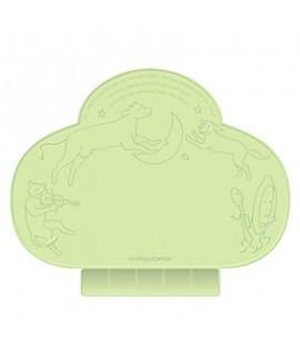 NIHONIKUJI Tiny Diner 吸盤防漏餐墊 - 綠色