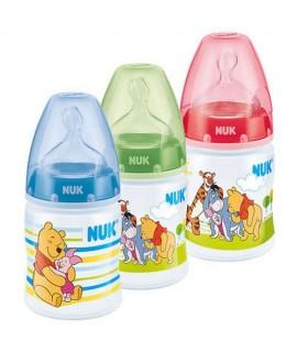 NUK PREMIUM CHOICE 迪士尼寬口PP奶瓶 150ML (矽膠奶咀) - 1個