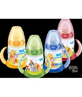NUK PREMIUM CHOICE 迪士尼寬口PP學飲奶瓶連手柄 150ML - 1個