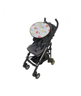 NAPOLEX 米奇 嬰兒車陽擋(灰色) 47x38cm