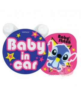 NAPOLEX BABY IN CAR 史迪仔貼紙