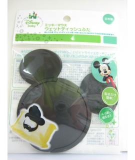 NISHIKI 米奇 便利濕紙巾蓋(黑色)