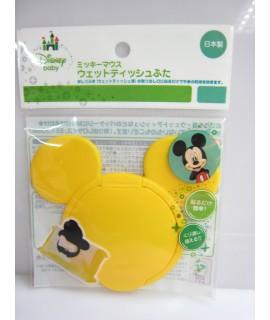 NISHIKI 米奇 便利濕紙巾蓋(黃色)
