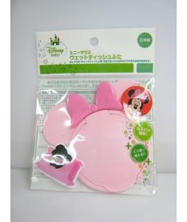 NISHIKI 錦化成 米妮 便利濕紙巾蓋(淺粉紅色)