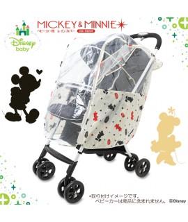 NISHIMATSUYA 米奇嬰兒車雨擋