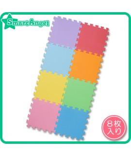 NISHIMATSUYA 彩色地墊8塊裝