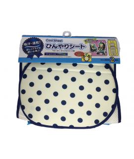 [限定貨品] LEC 嬰兒車墊連冷凍劑2個 (藍波點)
