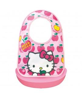 OSK Hello Kitty 軟膠口水肩連膠兜