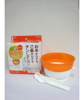 OSK 兩用大湯碗連匙羹及量羹 - 微波爐專用煲粥杯