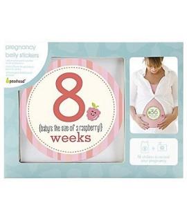 PEARHEAD 懷孕週期貼紙