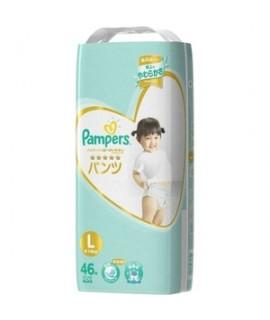 [JUMBO] PAMPERS Ichiban 學行褲 L 大碼46片 增量裝 (9-14kg)