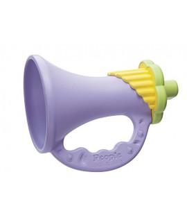 PEOPLE 純米喇叭型嬰兒彩色牙膠