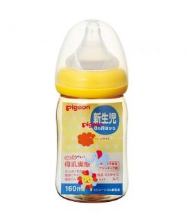 PIGEON PPSU母乳實感奶樽 160ML - 動物