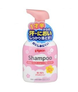 PIGEON 嬰兒洗髮泡泡 花香味 350ML
