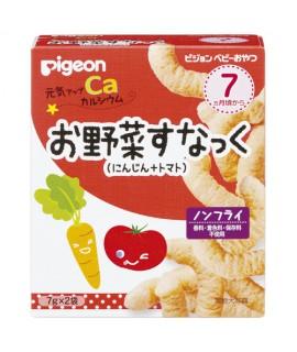 Pigeon 加鈣野菜(甘荀+蕃茄)粟米條 14g