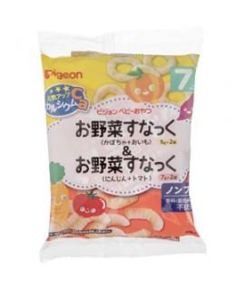 PIGEON 嬰兒高鈣餅(南瓜紅薯圈+胡蘿蔔蕃茄條)