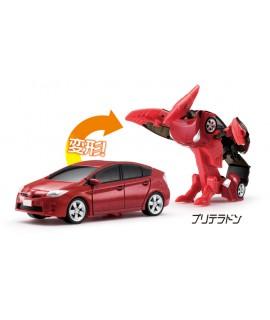 DiaRobo 紅色Toyata Prius 變身機械翼龍 DR-0008