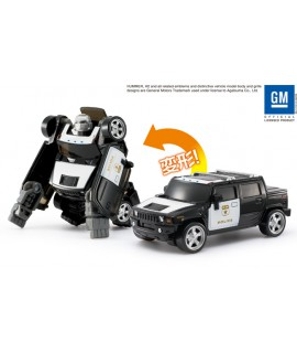 DiaRobo GM HUMMER H2 警車變身機械猩猩 DR-0016