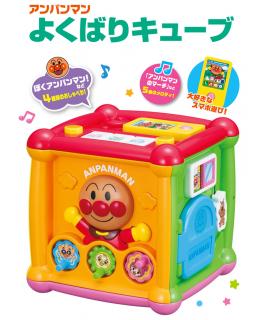 PINOCCHIO 麵包超人音樂玩具盒子