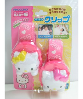 PINOCCHIO Hello Kitty 嬰兒車被夾 2個裝