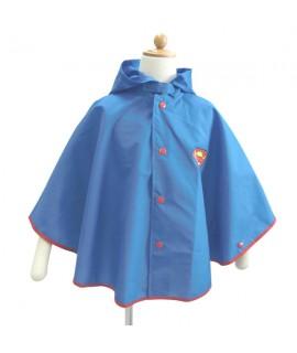 SAN-MARCO 斗篷式小童雨衣 100cm SUPERMAN