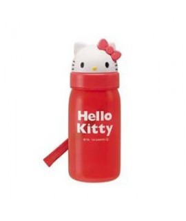 SKATER Hello Kitty 吸管水壺 350ml (附替換吸管1支)