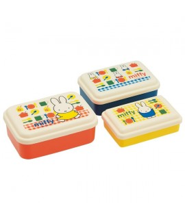 SKATER Miffy 餐盒 3個裝