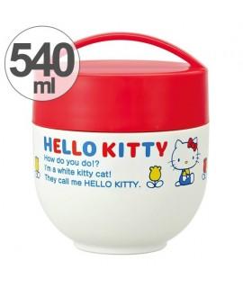 SKATER HELLO KITTY 超輕量 雙層保溫保冷碗型飯壺 220ml+320ml