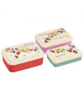 SKATER 米奇餐盒 3個裝