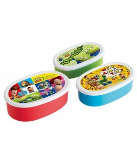 SKATER TOY STORY 餐盒 - 3件裝
