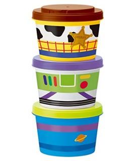 SKATER TOY STORY 小食物盒 三件裝
