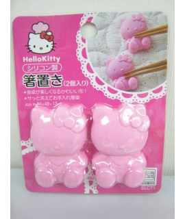 SKATER Hello Kitty 筷子架2個