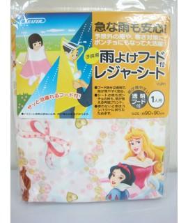 SKATER 公主 兩用小童便攜雨衣及地墊 90 x 90cm