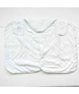 THINK B 無撚系 嬰兒包被 - 藍色 83 x 60cm #25-30113