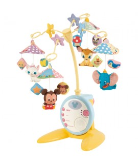 TAKARA 迪士尼音樂迴轉掛床玩具 DX