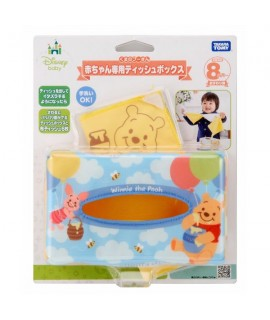 TAKARA 小熊維尼紙巾盒玩具
