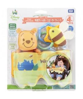TAKARA 小熊維尼嬰兒車玩具