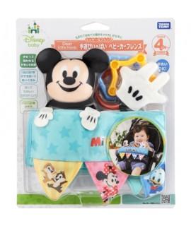 TAKARA 米奇嬰兒車玩具
