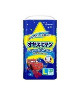 UNICHARM 反斗車王 夜用紙尿褲 L 大碼男仔30片(9-14kg)