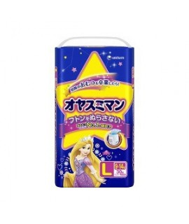 UNICHARM 公主 夜用紙尿褲 L 大碼女仔30片(9-14kg)