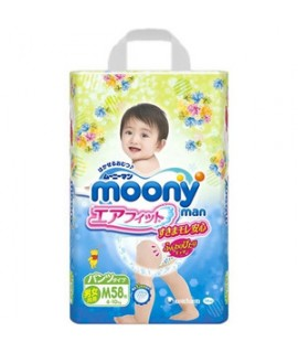 MOONY 小熊維尼學行褲 M 中碼58片(6-10kg)