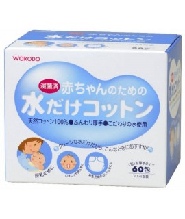 WAKODO 和光堂 嬰兒潔淨棉 60片