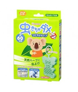 WAKODO 和光堂 日本製 樹熊 驅蟲掛勾