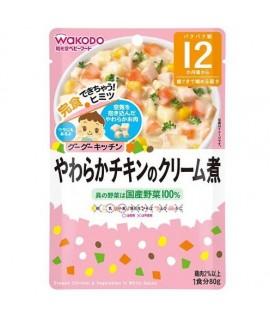 WAKODO 和光堂 白汁野菜煮雞 80g IE375